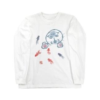 目がこええよ!マルティ Long sleeve T-shirts