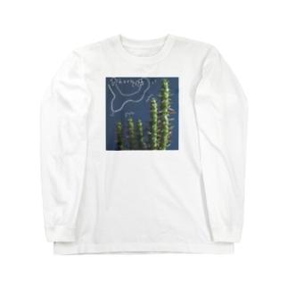 草たち① Long sleeve T-shirts
