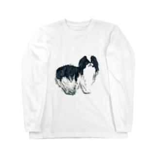 犬 Long sleeve T-shirts