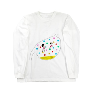 ボルダリング(体内) Long sleeve T-shirts