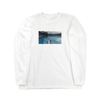 I thought I didn't have friends but  Long sleeve T-shirts