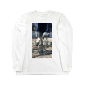 ガラス瓶 Long sleeve T-shirts