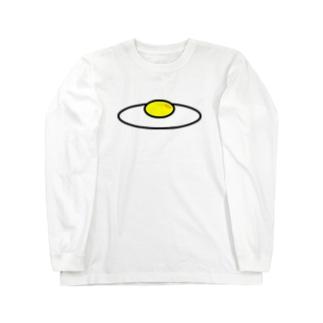 目玉焼き2 Long sleeve T-shirts