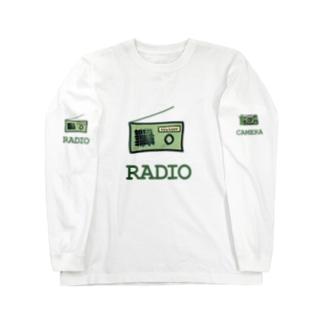 ラヂオ Long sleeve T-shirts