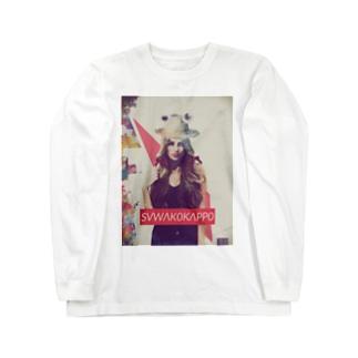 SUWAKOKAPPO Long sleeve T-shirts