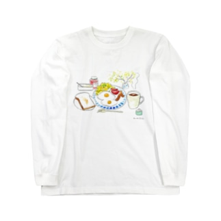 朝ご飯だよ!~トースト派編~ Long sleeve T-shirts