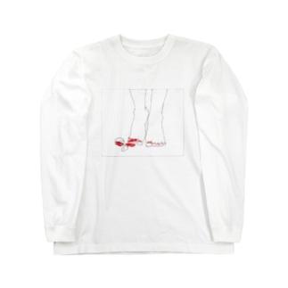マニキュア Long sleeve T-shirts