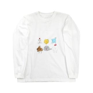 ともだち Long sleeve T-shirts
