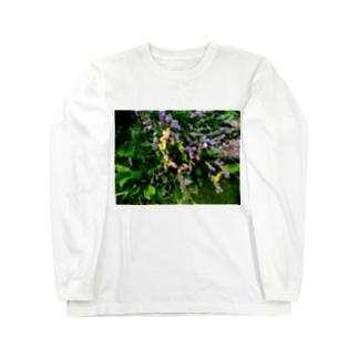 やすらぎ Long sleeve T-shirts