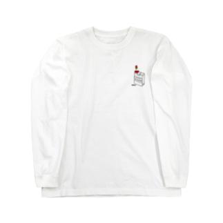 cigarette  flower Long sleeve T-shirts
