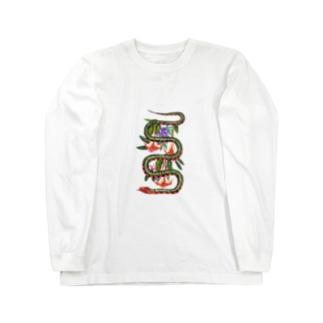 毒 bouquet Long sleeve T-shirts
