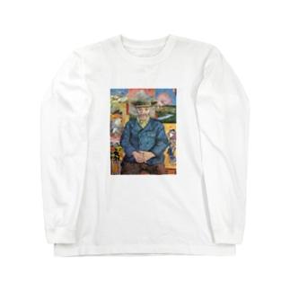 ゴッホ / 1888 /Père Tanguy / Vincent van Gogh Long sleeve T-shirts