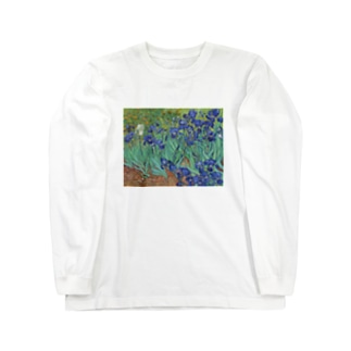 ゴッホ / アイリス / 1889 / Irises Vincent van Gogh Long sleeve T-shirts