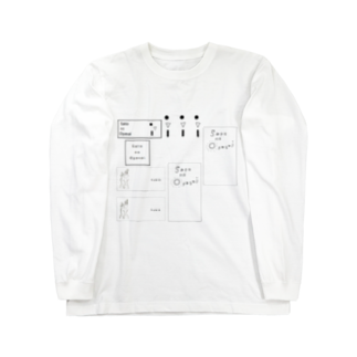 Yukioのラベルズ Long sleeve T-shirts