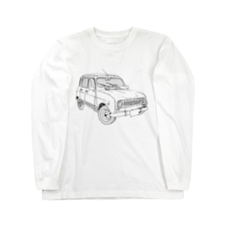 RENAULT 4GTL(BK) Long sleeve T-shirts
