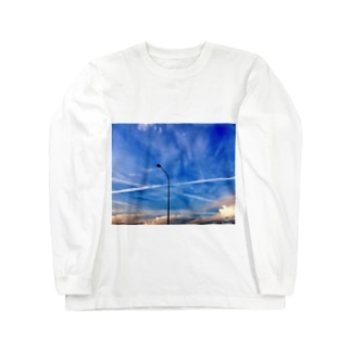 Blue sky  Long sleeve T-shirts