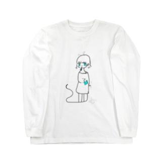 しずむ アオ Long sleeve T-shirts