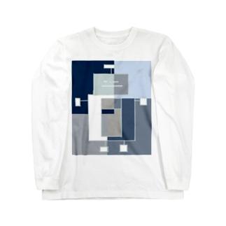 ロボットカラフル Long sleeve T-shirts