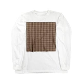 封筒地紋(花:01) Long sleeve T-shirts