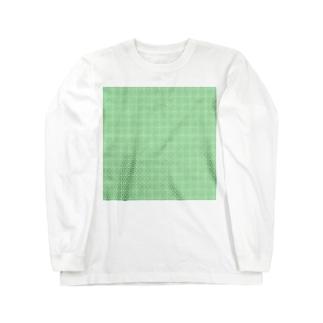 封筒地紋(万華鏡:01) Long sleeve T-shirts