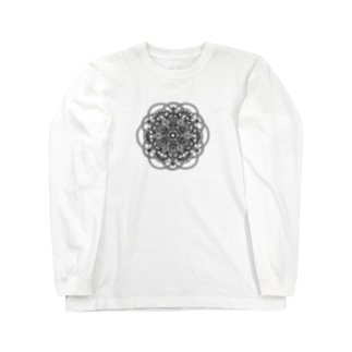 sungleの清 -モノクロ- Long sleeve T-shirts