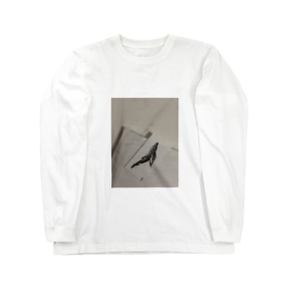 in whale Long sleeve T-shirts