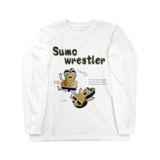 鹿ケ谷かぼちゃ【Sumo wrestler】 Long sleeve T-shirts