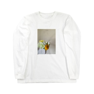 手には花束 Long sleeve T-shirts
