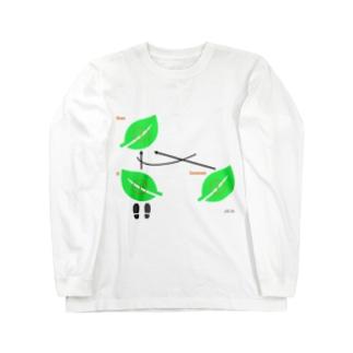 LOGIC BRANCH(English ver.) Long sleeve T-shirts