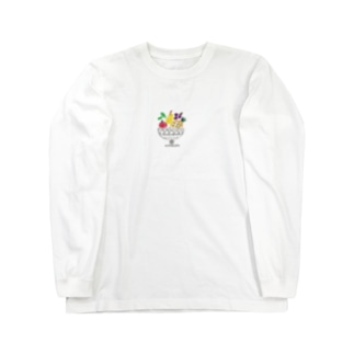 フルーツパッフェ Long sleeve T-shirts