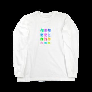 インフル★エンドのインフル★ワンワン Long sleeve T-shirts