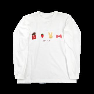 みみのなんかおしゃれな絵かけた Long sleeve T-shirts