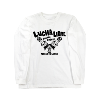 LUCHAのLUCHA LIBRE#30mono Long sleeve T-shirts