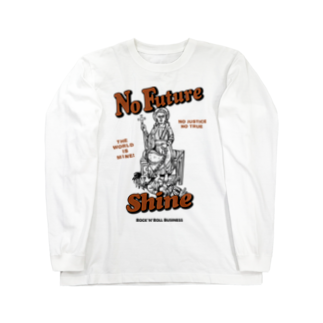 Shineのno justice no true Long sleeve T-shirts