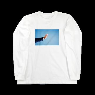 turara shopのたばこ Long sleeve T-shirts