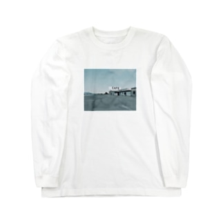 カフェ Long sleeve T-shirts