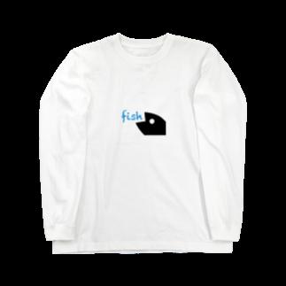 animalsのfish Long sleeve T-shirts