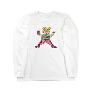 ROLLER SKATES Long sleeve T-shirts