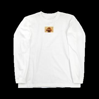 Ayanefukuの福が来るよ福ちゃんグッズ Long sleeve T-shirts