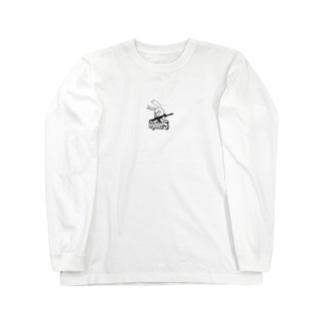 BeginnerS らびっと!スケルトン Long sleeve T-shirts