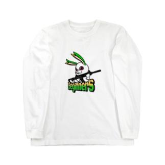 BeginnerS らびっと!カラー Long sleeve T-shirts