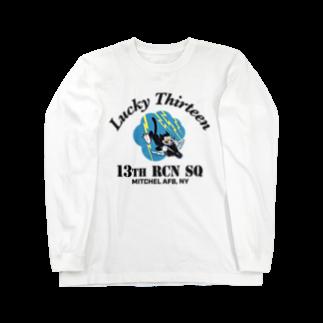 Bunny_Robber_GRPCの13th RCN SQ_BLK Long sleeve T-shirts