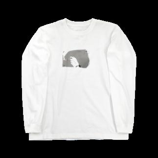 ハイジマのsmoke Long sleeve T-shirts