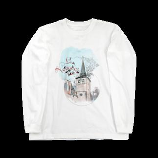 M.MiraのLes voyages. Long sleeve T-shirts