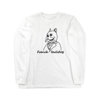 French bulldog long T Long sleeve T-shirts