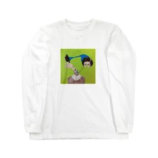 伝達 Long sleeve T-shirts