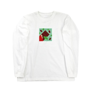 チョコミント Long sleeve T-shirts
