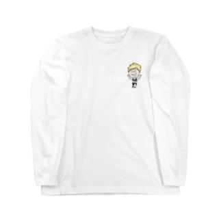 金髪の柴田_Passion294モデル Long sleeve T-shirts