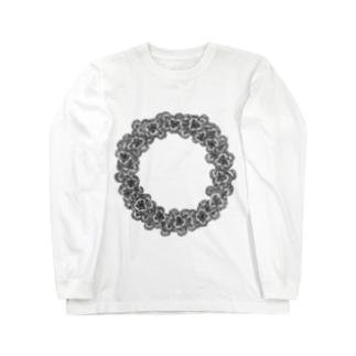 クローバーリース Long sleeve T-shirts