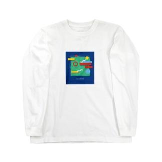 tennis court  Island Long sleeve T-shirts